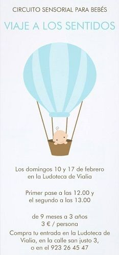 Circuito sensorial para bebés en Vialia