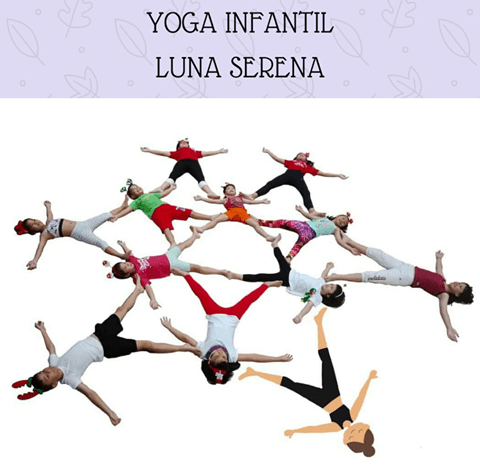 Yoga infantil en el Espacio de Realajación Luna Serena