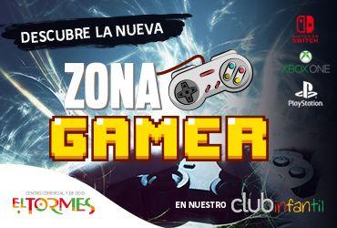 Zona Gamer en el C.C. El Tormes