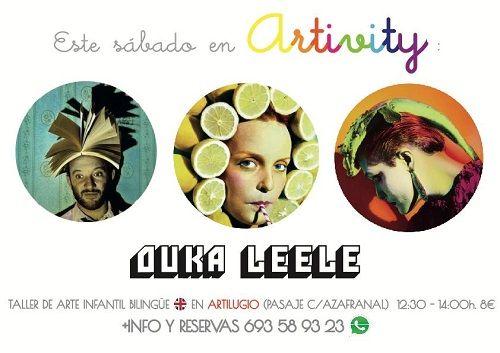 Artivity con Ouka Leele