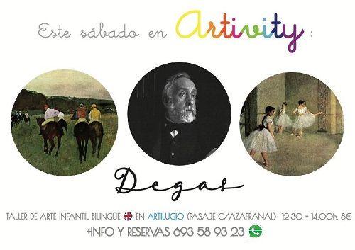 Artitivy, taller de arte en inglés
