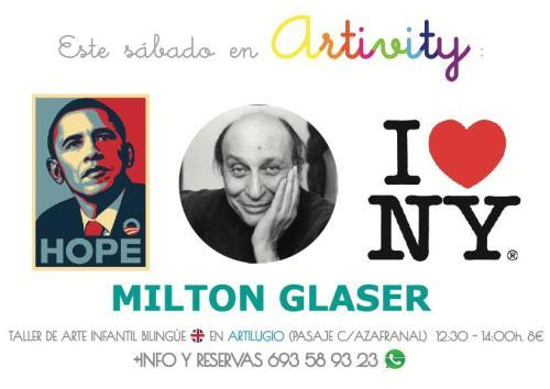 Milton Glaser en el Artivity