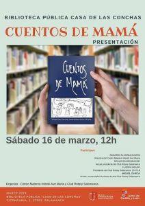 """Presentación de """"Cuentos de mamá"""" en la Biblioteca de la Casa de las Conchas"""