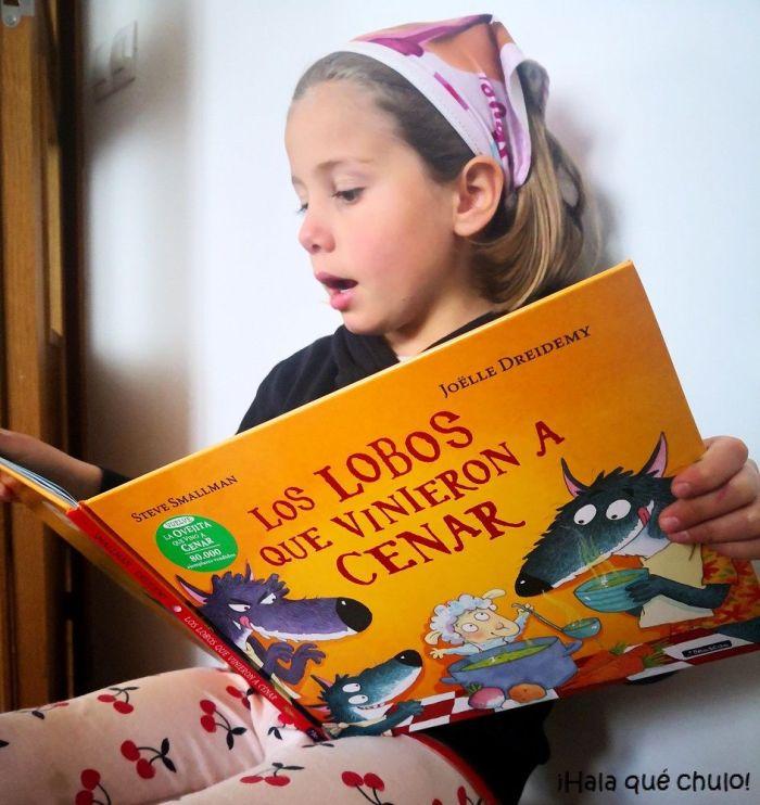 """Elsa lee en voz alta """"Los lobos que vinieron a cenar"""""""