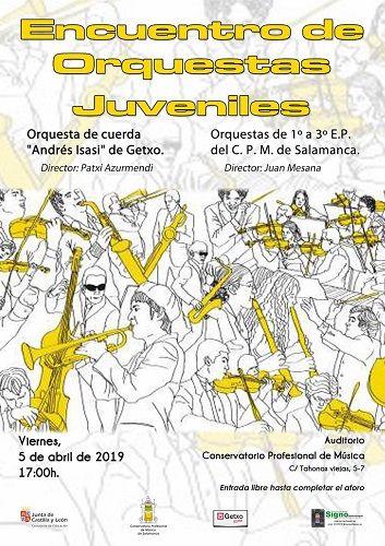 Encuentro de Orquestas Juveniles en el Conservatorio Profesional de Música