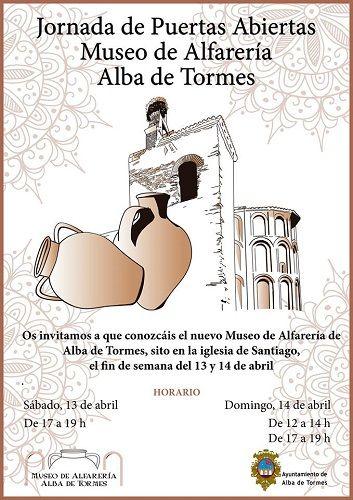 Jornada de Puertas Abiertas Museo de Alfarería en Alba de Tormes