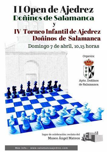 IV Torneo Infantil de Ajedrez Doñinos de Salamanca en el Museo del Hormigón