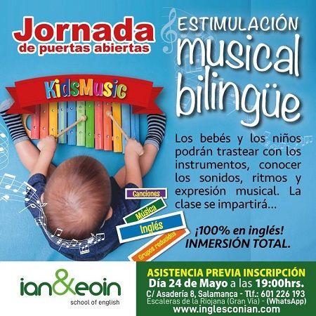 Jornada de puertas abiertas: Estimulación musical bilingüe en Ian & Eoin