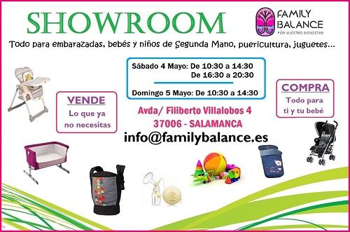 Showroom de segunda mano en Family Balance