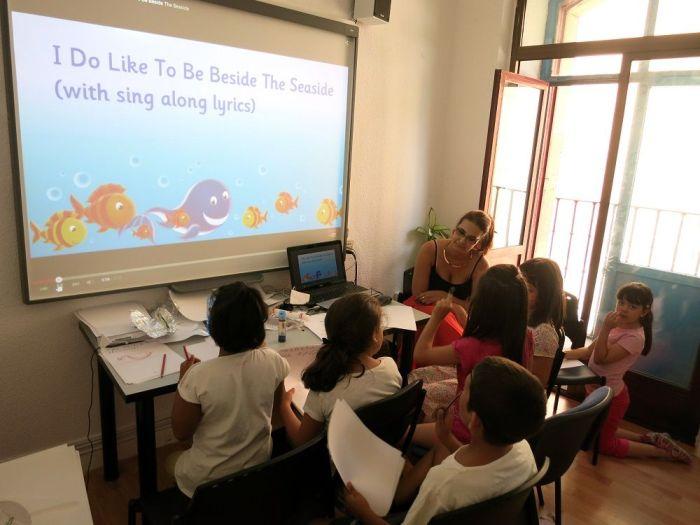 Campamento urbano internacional Tía Tula Talk Center Salamanca