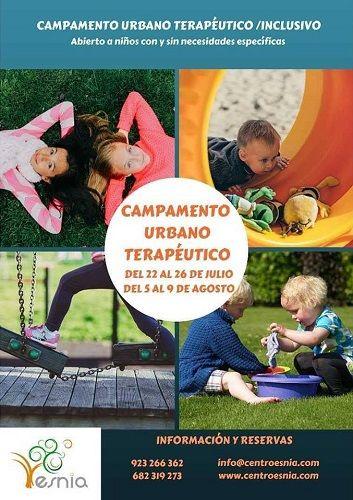 Campamento urbano/terapéutico inclusivo de estimulación infantil