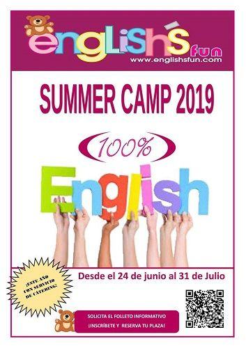 Summer Camp 2019 en English's Fun