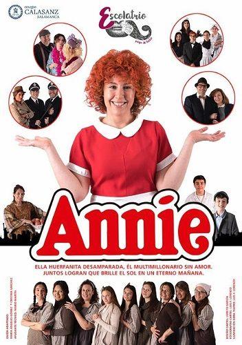 """""""Annie el Musical"""" en el Colegio Calasanz"""