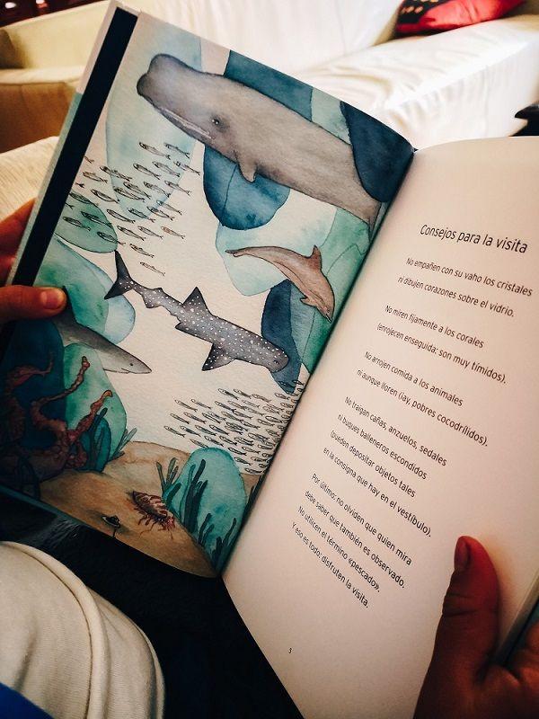 """Kalandraka edita el poemario """"Tarde en el acuario"""""""