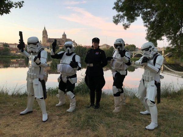 Training Day XI en Salamanca - Las tropas de la Legión 501 desfilan por Salamanca
