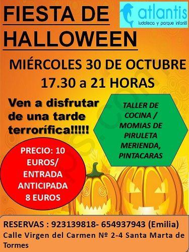 Fiesta de Halloween en Atlantis