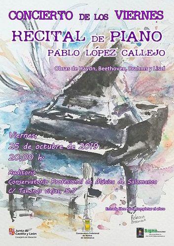 Concierto de los viernes en el Conservatorio Profesional de Música