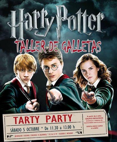 Taller de galletas de Harry Potter en Tarty Party