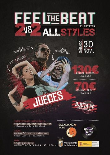Feel the beat! 2 VS 2 All Styles!!, punto final a Salamanca a Tope