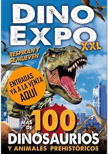 Dino Expo XXL, Exposición original con dinosaurios
