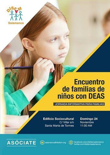 Encuentro de familias con niños con dislexia y otras DEAS