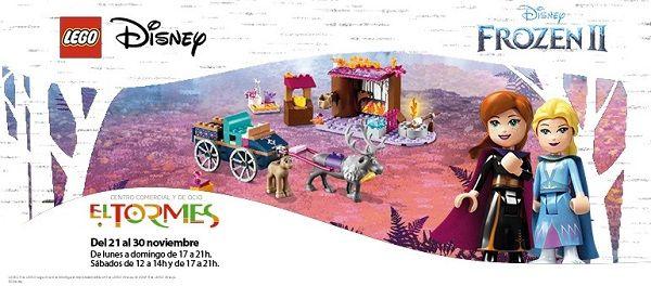Lego Frozen en el Centro Comercial El Tormes