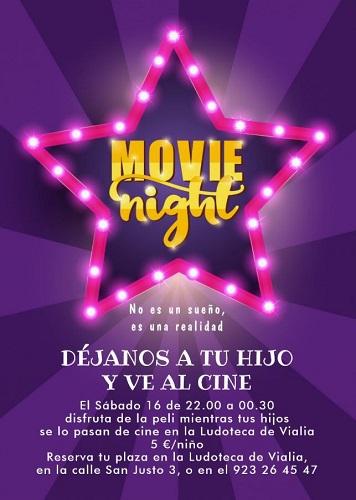 Movie Night, déjanos a tu hijo y ve al cine