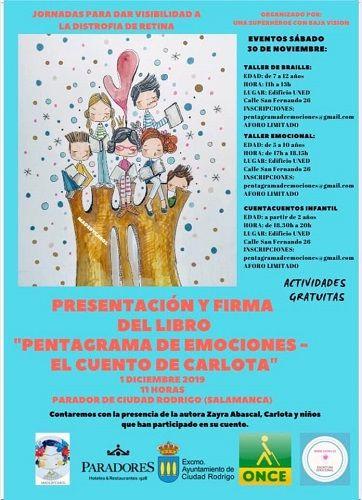 """Presentación de """"Pentagrama de emociones"""" en Ciudad Rodrigo"""