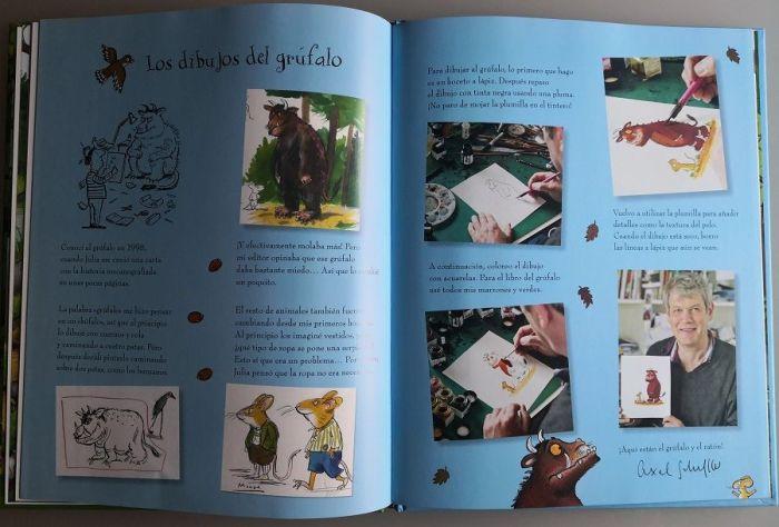 Todos los secretos de Axel Scheffer para conseguir dibujar al grúfalo