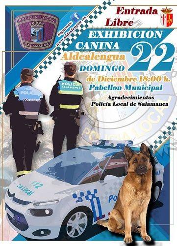 Exhibición canina en Aldealengua