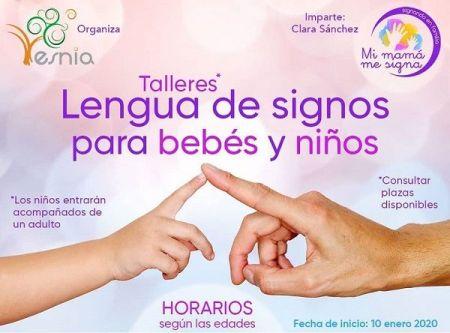 Talleres de lengua de signos en Centro Esnia