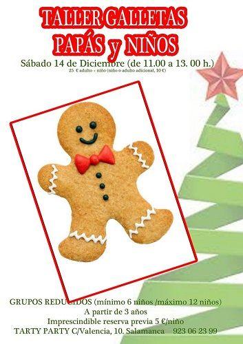 Taller de galletas de Navidad para familias