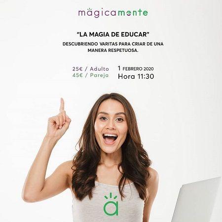"""Taller """"La magia de educar"""" en MágicaMente"""