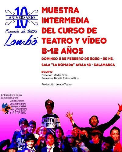 Muestra Intermedia del Curso de Teatro y Vídeo Infantil