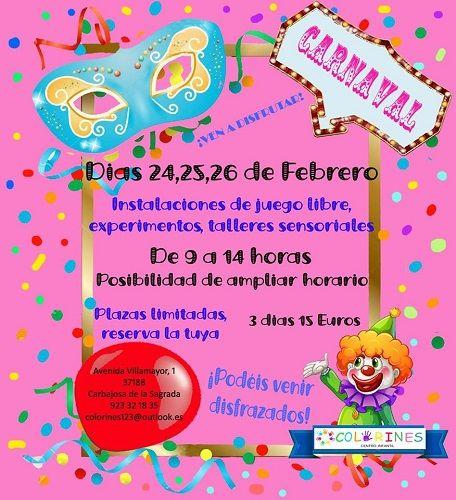 Carnaval en el Centro Infantil Colorines