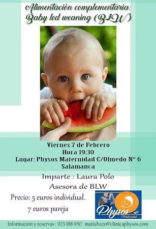 Charla sobre alimentación complementaria en Physos Maternidad