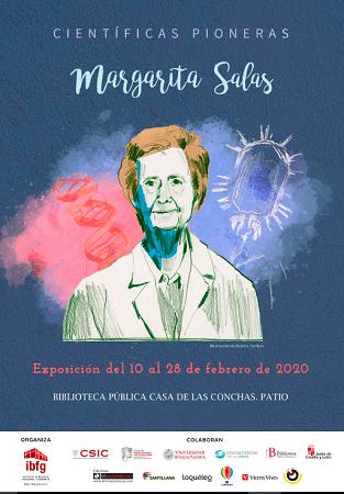 """Exposición """"Científicas Pioneras - Margarita Salas"""" en la biblioteca Casa de las Conchas"""