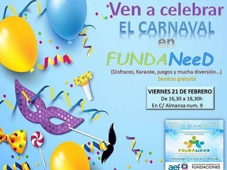 Celebra el Carnaval en Fundaneed