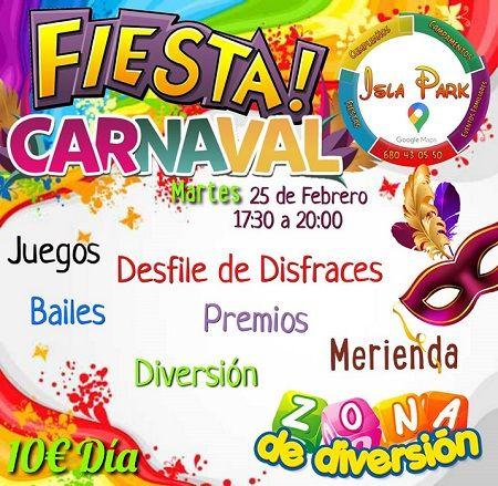 Fiesta de Carnaval en Isla Park