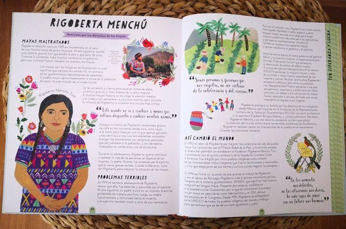 """""""Ellas cuentan"""", 50 mujeres y niñas que cambiaron el mundo"""