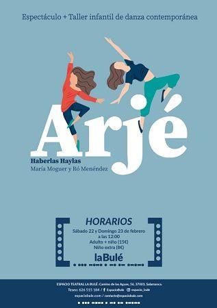 Danza contemporánea y taller infantil en La Bulé