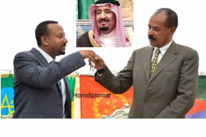 Madaxda Sucuudiga, Eritrea iyo Itoobiya oo Sucuudiga ku kulmaya