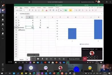Endspurt und Excel 1
