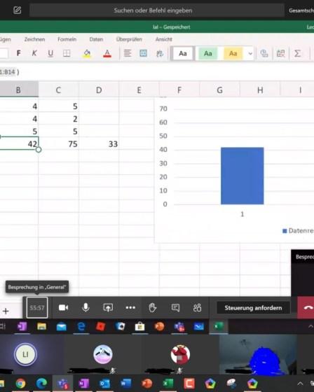 Endspurt und Excel 6
