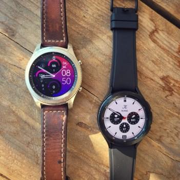 Galaxy Watch 4 und Gear S3