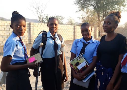 Safe house for girls in Zambia