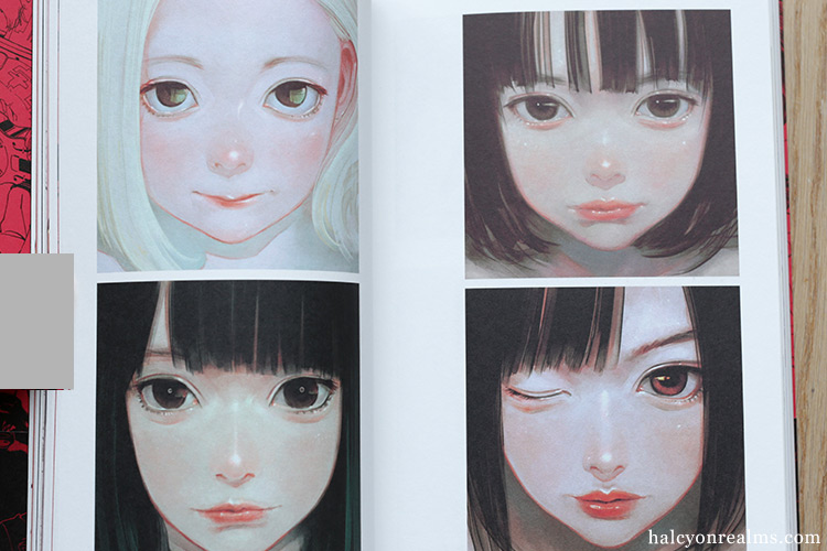 Akaban - Cotoh Tsumi Illustration Works Art Book Review 古塔つみ作品集 赤盤