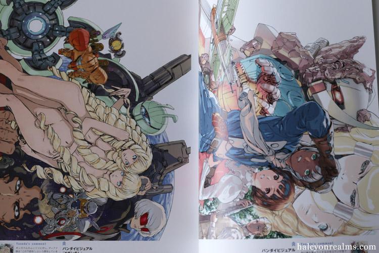 Akira Yasuda Gundam Design Works Art Book Review