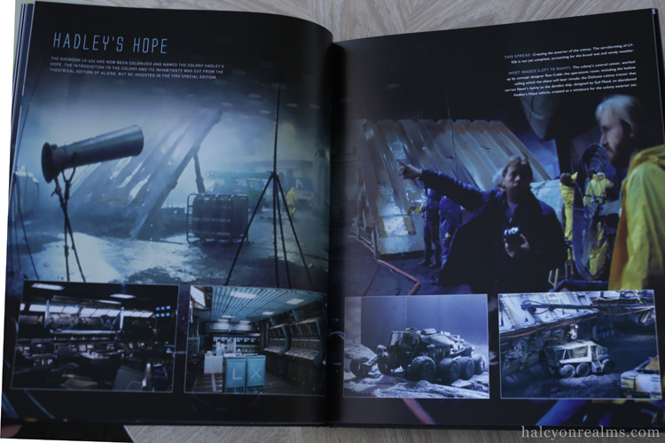 Aliens - The Set Photography Book Review