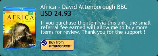 Africa - David Attenborough's Natural History Series Blu-ray Amazon Buy Link